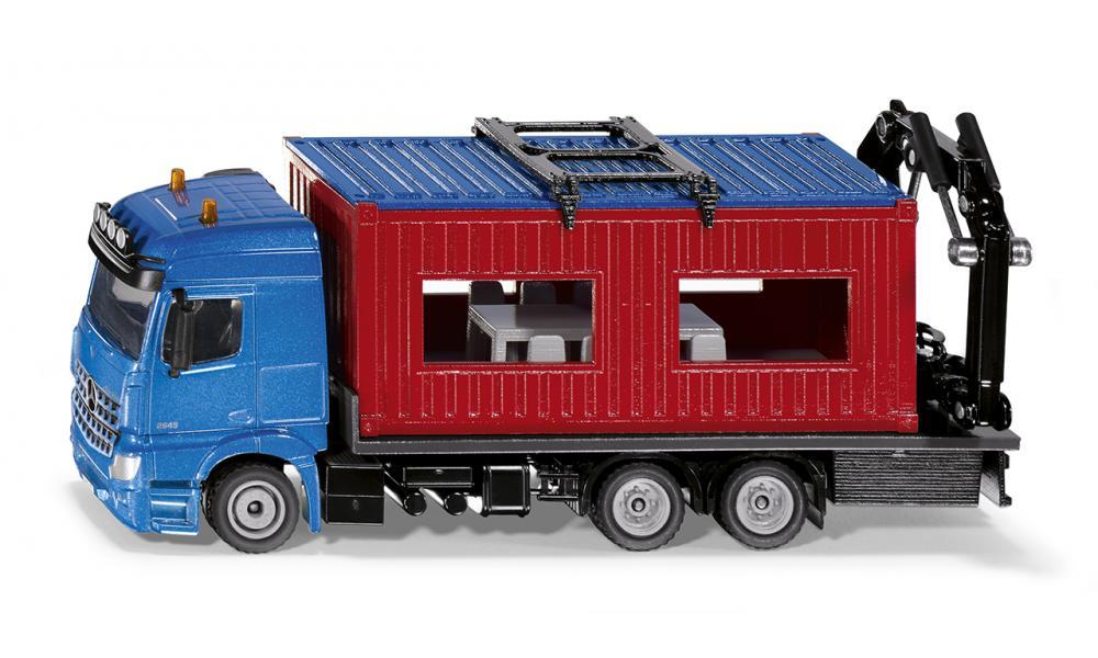 SIKU 3556 Tovornjak s kontejnersko pisarno